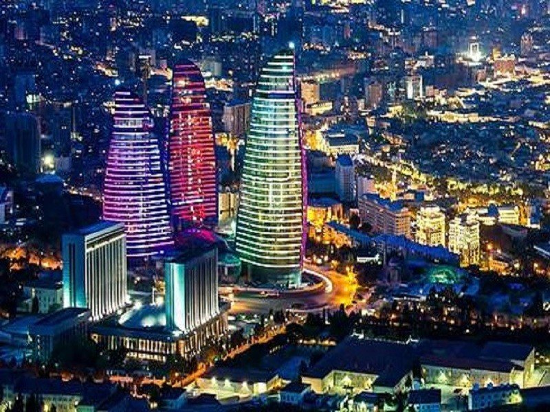 BAKU FLAME TOWERS (AZERBEJDŻAN)