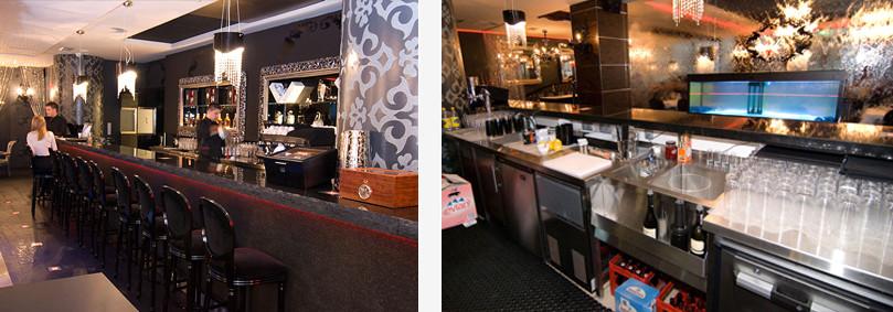 Niesamowite Lady barowe | Zabudowy barowe ze stali nierdzewnej, szkła, drewna… GV79