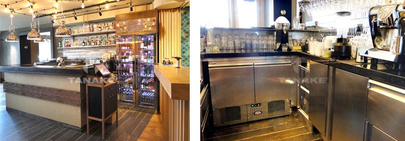 Chwalebne Lady barowe | Zabudowy barowe ze stali nierdzewnej, szkła, drewna… HC54