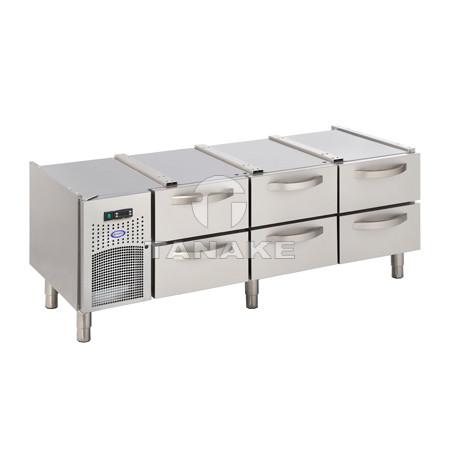 Podstawa chłodnicza 3 x 2 szuflady