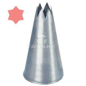Końcówka stalowa - gwiazdka 6 mm