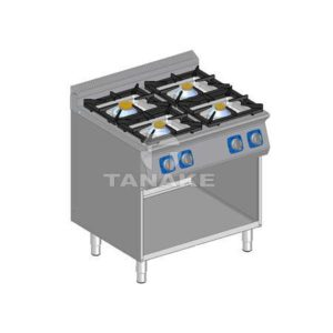Kuchnia gazowa 4 palnikowa z szafką
