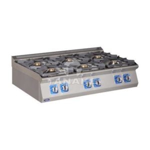 Kuchnia gazowa 6 palnikowa