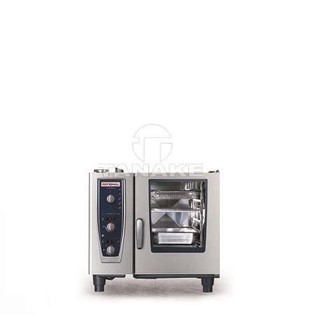 Piec konwekcyjno-parowy 6xGN1/1 CM61 półaut mycie