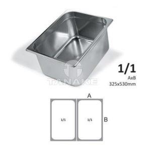 Pojemnik GN ze stali nierdzewnej 1/1-20 mm