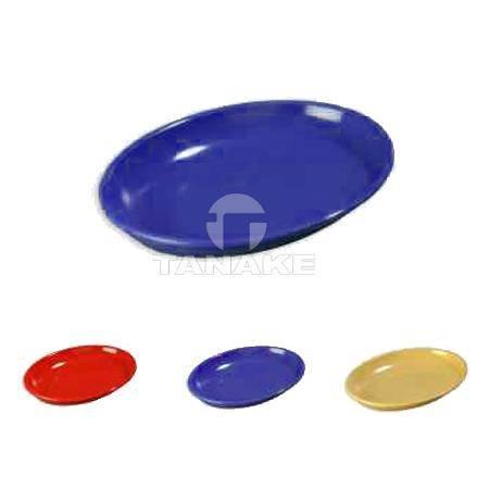 Półmiski kolorowe owalne 49x35cm