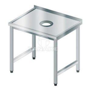 Stół sortowniczy z otw. na odpadki