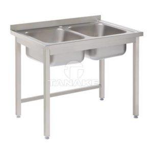 Stół ze zlewem 2-kom. 1000x700x850