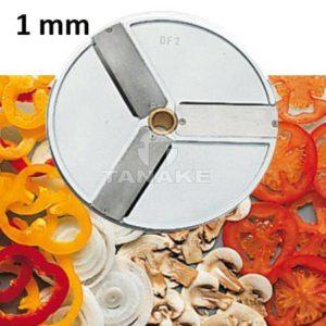 Tarcza - plastry 1 mm (3 noże)