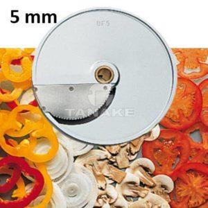 Tarcza - plastry 5 mm do miękkich warzyw (1 nóż)