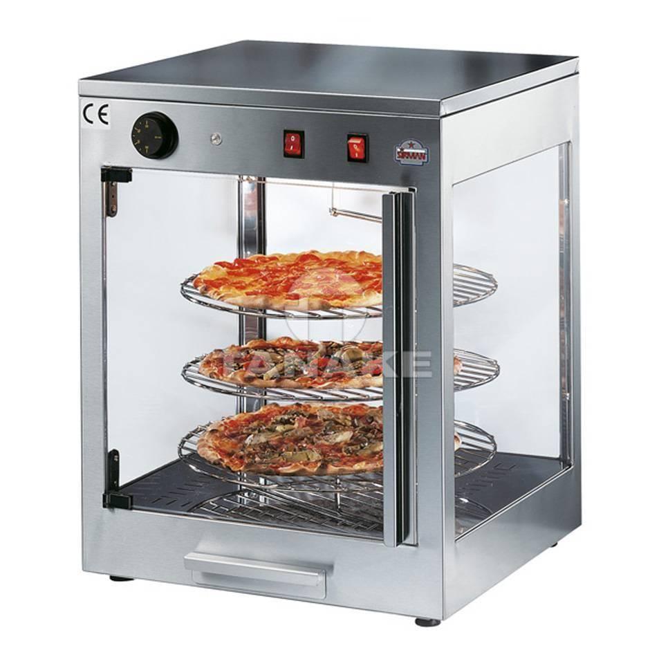 Witryny grzewcze do pizzy