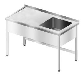 stół ze zlewem 1 kom